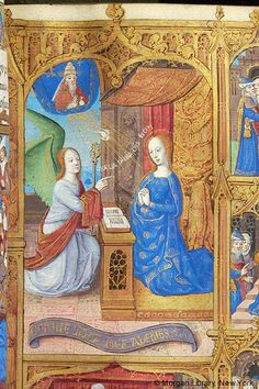 Book of Hours, MS H.5 fol. 30r - Images from Medieval and Renaissance Manuscripts - The Morgan Library & Museum