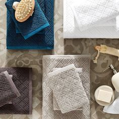 Towel Display, Bed & Bath, Towel Set, Hand Towels, Wallet, Catalog, Instagram Posts, Essentials, Lifestyle