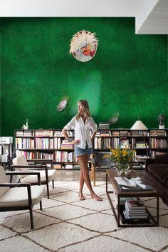 Wallpainting by Elisabeth Leroy