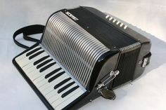 My Francini 25 key/12 bass accordion. Single treble musette register. Great for cajun!