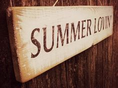 Summer is life....summer holds so many things ends of things but starts to better things...
