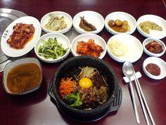 Korean Table Settings