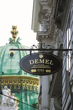 Cafe Demel, Vienna's legendary confectioner Great Buildings And Structures, Modern Buildings, Austria Travel, Vienna Austria, Austria Info, Central Europe, Travel Design, Budapest Hungary, Paris