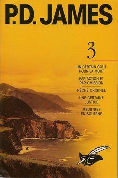 Les Intégrales du Masque - P.D. James - Volume 3 - Recto - Novembre 2003