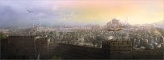 Constantinople view by pbario on DeviantArt