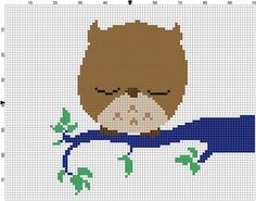 The Owl Cross Stitch Pattern Professional by TeaPartyRevolution