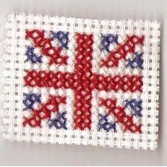 Flag SWAPs - cross stitch flags (UK)