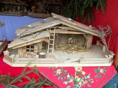 1000+ images about Weihnachtskrippe on Pinterest | Nativity stable