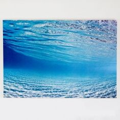 Ocean photography on large mounted canvas (various designs)