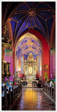 A regal prayer: Church in Bydgoszcz, Poland  #churchesaroundtheworld #Polandtravelguide #uniquechurches