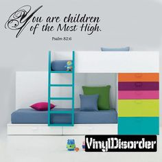 Wall Decal Children of the Most High