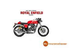 Are you a Proud Owner of #RoyalEnfield ...Check out for things you should look into while buying a #Twowheeler #Insurance for it.Click to know more