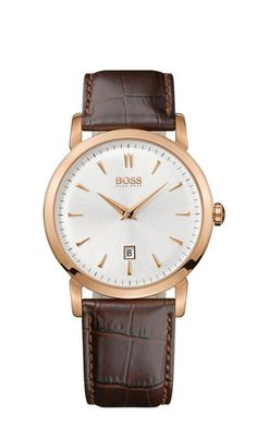 Hugo Boss 1512634 #MenWatch Stainless Steel Case with Rose Gold IP (316 L)..Price: €275.00