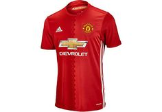 2016/17 adidas Kids Manchester United Home Jersey. Buy yours right now from SoccerPro