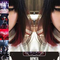 WEBSTA @ makotoinoue - 番外編第二弾!!今回のイメージは、#BABYMETAL のカラーと言っても過言ではない『赤✖️黒』🤘🏻先週は、#BABYMETAL の東京ドームでして、、、載せてみました!!それと、アメリカでアニメになるようで、おめでとうございます🤘🏻😺🤘🏻#BABYMETAL#ベビーメタル#イメージ#デザイン#カラー#デザインカラー#世界一#美容師#大阪#梅田#茶屋町#マニパニ#地毛#ブリーチ#インナーカラー#独創的#外国人風#レッチリのツアーも行きたかった#サロンワーク #我が道を突き進む#superposition #井上愼人