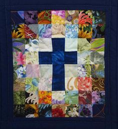religious barn quilt with cross Lap Quilts, Small Quilts, Mini Quilts, Heart Quilts, Cross Patterns, Quilt Block Patterns, Quilt Blocks, Rug Patterns, Stitch Patterns