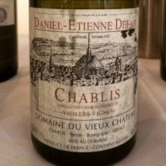 Daniel-Etienne Defaix Chablis Vieilles Vignes 2010