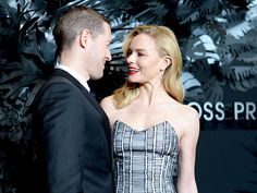 November 20, 2014 Kate Bosworth and husband Michael Polish keep up their string of sweet red carpet poses on Thursday night while joining Jackson at the Hugo Boss Prize 2014 awards in N.Y.C.