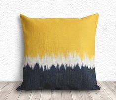 Tie Dye housse, housse de coussin, oreiller taie, lin coussins/couverture de 18 x 18 - imprimé Tie Dye - 238