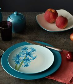 Colorwave Turquoise http://noritakechina.com/colorwave-turquoise.html #dinnerware #home #noritake #colorwave