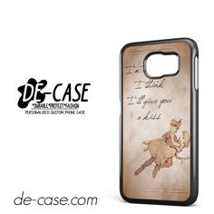 Peter Pan And Wendy Quote DEAL-8552 Samsung Phonecase Cover For Samsung Galaxy S6 / S6 Edge / S6 Edge Plus