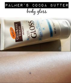 9Palmer's Cocoa Butter Body Gloss with Subtle Skin Illuminators Review
