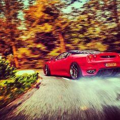 Ferrari F430 Scuderia driven properly.