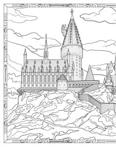 Harry Potter Magical Places and Characters Colouring Book 3: Amazon.co.uk: Warner Brothers: 9781783706006: Books