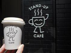 シティ内で地図見ながらでもちょっと迷うくらい、路地裏にある隠れた名店的な☕️✨ #australia#オーストラリア #melbourne#メルボルン #melbournecity #standupcafe #takeawaycoffee#takeawaycup #cafe#melbournecafe#メルボルンカフェ #メルボルンカフェ巡り記録