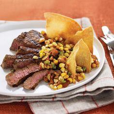 ********************************************** chipotle steak and corn salsa