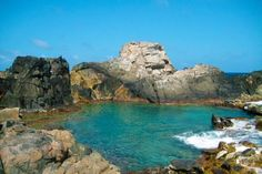 Inspiration:  Natural wonders... Aruba Natural Pool...