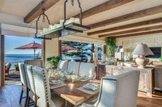 From beachfront cottages to lakeside mansions, this category puts the spotlight on homes in gorgeous waterfront settings of all kinds.