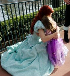 Getting different photos from the Disney characters