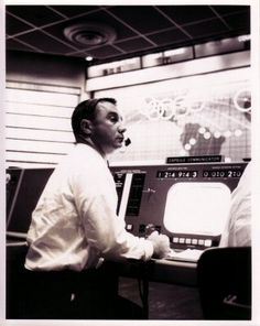 24 May 1962 Gus Grissom, Capsule Communicator, is seen at his console as he talks to Scott Carpenter during the mission. NASA No. Gus Grissom, Space Astronauts, Project Mercury, Mission Control, Nasa Missions, Nasa History, Space Cowboys, Risky Business, Major Tom