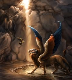 The Criosphinx The Sphinx is a traditional monster with the body of a lion, and the head of either a human, falcon or ram invented by the Egyptians of the Old Kingdom, before being imported in Greek mythology. The name sphinx comes from the Greek sphigge Egyptian Mythology, Greek Mythology, 3d Fantasy, Fantasy World, Fantasy Artwork, Le Sphinx, Mythological Creatures, Mythological Monsters, Magical Creatures