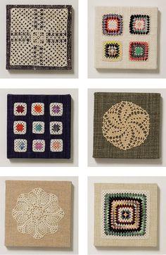 Crochet art, uma graça.
