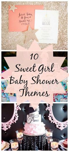 10 Sweet Girl Baby Shower Ideas