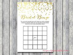 bridal-bingo