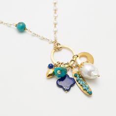 Charms necklace  / Nina Rossi Jewelry / Biżuteria / Naszyjniki