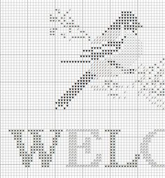 Free Cross Stitch Patterns by AlitaDesigns: Welcome