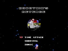 Robotnik's Revenge v1 Sega Mega Drive, Amy Rose, Revenge, Multimedia, 2d, Sonic The Hedgehog, Software, Hacks, Movie Posters