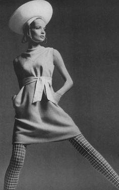 Veruschka by Richard Avedon, US Vogue, 1967