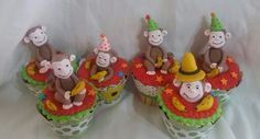 Jorge el curioso cupcakes