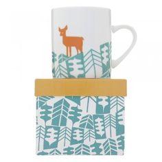 Magpie Abode Deer Mug
