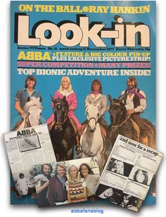 This issue of Look-in magazine was originally published in December 1977 and featured two Abba articles, a poster and a comic strip feature . Pop Magazine, Magazine Covers, Milly And Molly, Comics Uk, My Childhood Memories, Comic Character, Comic Strips, Nostalgia, That Look