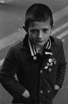 vintage skinhead portraits from the late 70s-80s