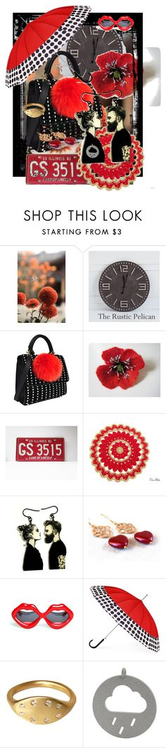 in the rain - do not be sad by sandalfelt on Polyvore featuring Les Petits Joueurs, ShedRain and Linda Farrow