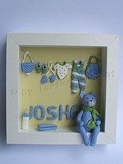 Baby Bild 3 D Shadow Box, 3d, Cute, Baby, Ideas, Home Decor, Fimo, Decoration Home, Room Decor