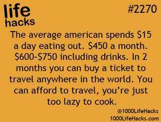 Some life hacks for you! – Finance tips, saving money, budgeting planner 100 Life Hacks, Simple Life Hacks, Useful Life Hacks, Funny Life Hacks, Life Tips, Life Lessons, Lifehacks, This Is Your Life, Money Saving Tips