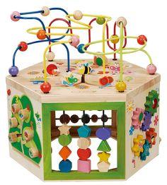 Amazon.com: EverEarth 7-em-1 Garden Atividade Cube EE33285: Brinquedos e Jogos